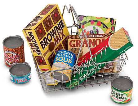 win a melissa doug grocery basket with play food giveaway from gummy lump 4 1 i love my. Black Bedroom Furniture Sets. Home Design Ideas