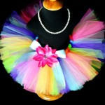 Pastel Butterfly Princess Rainbow Tutu Skirt Giveaway from Posh Baby Store