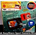 Kodak EasyShare Sport Camera Giveaway, April 3