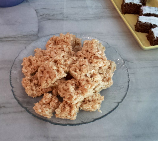 how to make rice krispies at home
