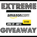 Enter to win $100 Amazon Gift Card, Ends May 6