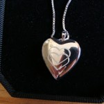 Win a FREE Custom Heart photo Locket review / giveaway, Mother's Day Gift Guide, Ends May 4
