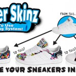 5 Sneaker skinz giveaway, Sneaker Customizing system!, Ends May 31