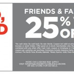 25% off Sports Authority Coupon