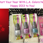 L.A. Colors Flash Giveaway, Ends 1/1