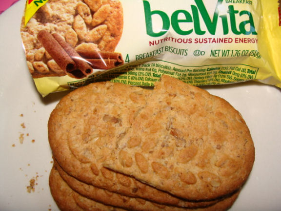 breakfast biscuits from Belvita