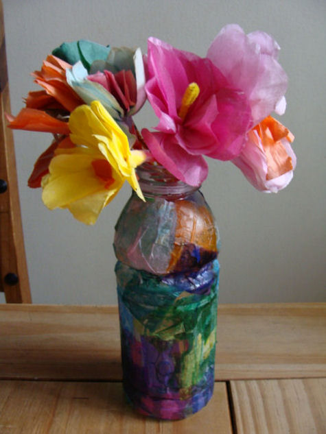 Hand made plastic bottle i love my kids blog for Things to make with plastic bottles for kids