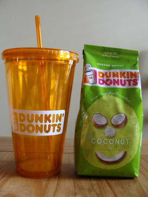 cee97dc8477 Dunkin donuts tumbler giveaway!