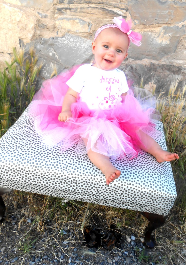 have your little girl be a princess and wear a tutu to dress up for a special day