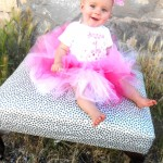 Have your little girl be a princess and wear a tutu to dress up for a special day!