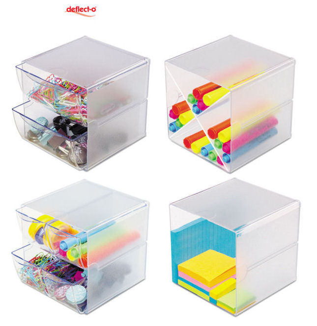 Keep your work desk clutter free with deflect o - Desk organizers for kids ...