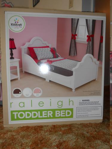 KidKraft Toys Furniture Raleigh Toddler Bed In Pink Review By I