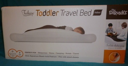 The Shrunks Inflatable Toddler Travel Bed Makes Life