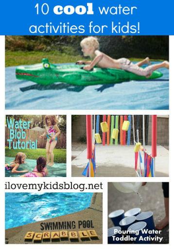 10 Diy Cool Water Activities For Kids I Love My Kids Blog