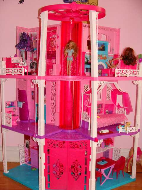 The All New Renovated 3 Story Barbie Dream House 2013 Is