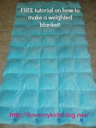Diy Weighted Blanket Free Tutorial