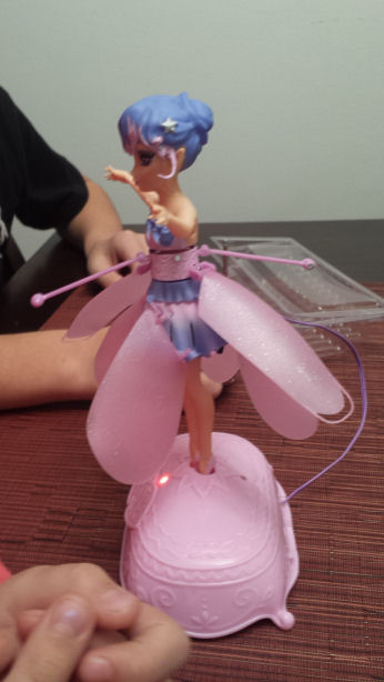 flying fairy toy instructions