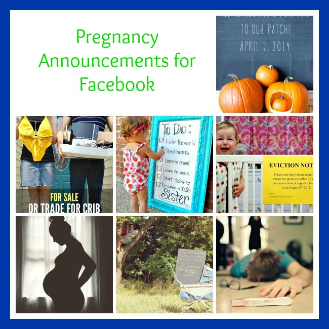 10 Cute Pregnancy Announcement Ideas for Facebook – Cute Birth Announcement Ideas