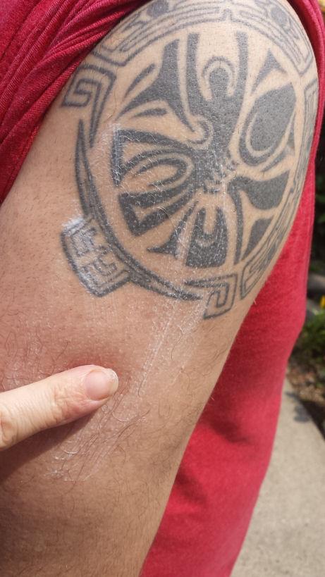 Banana boat triple defense sunscreen for men for Best sunblock for tattoos