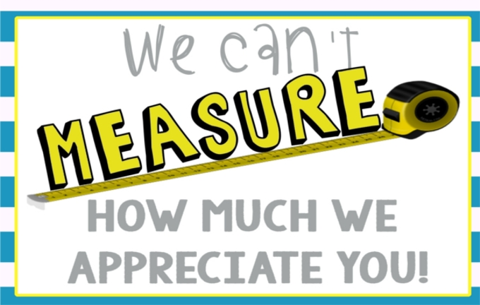 ... How Much We Appreciate You Thank You Note for Men (FREE PRINTABLE