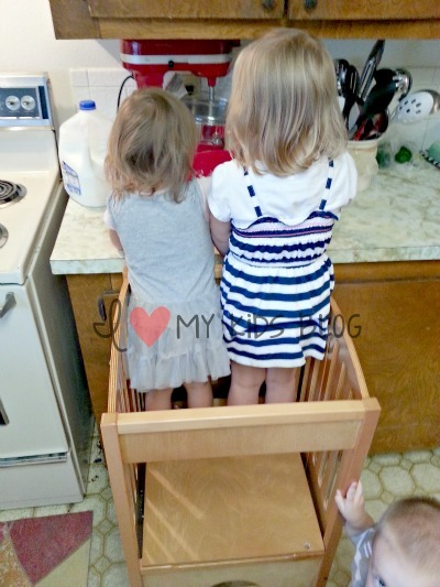 Kitchen Helper Is Great For Your Children To Help In The