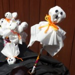 Ghostly Pencil-Halloween Craft