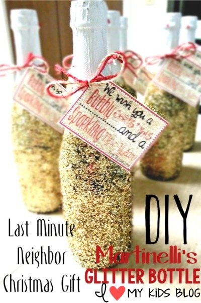 Last Minute Christmas Gift Diy Martinelli S Glitter Bottle