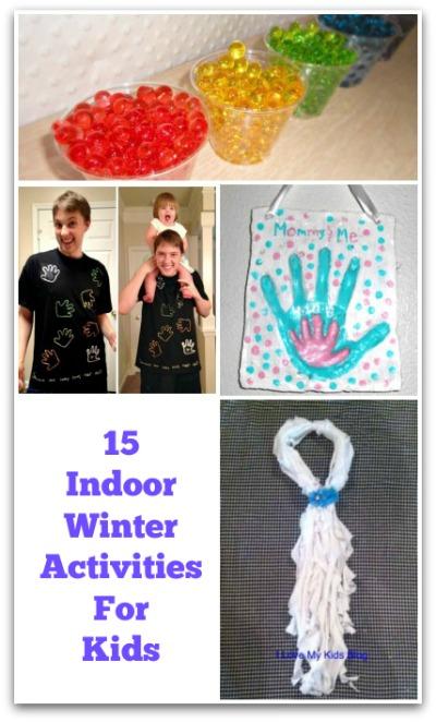 15 Indoor Winter Activites For Kids