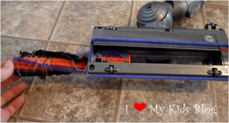 dyson v6 slim cordless vacuum in action. Black Bedroom Furniture Sets. Home Design Ideas
