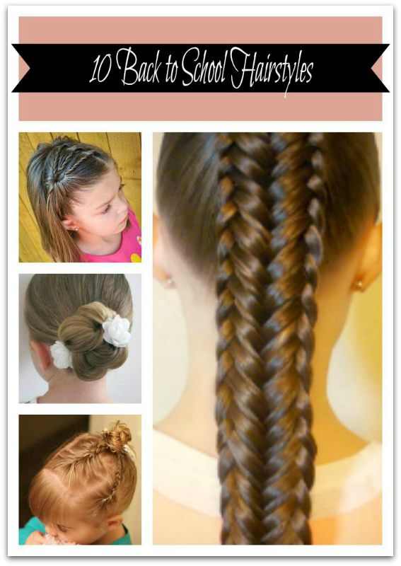 Groovy 10 Back To School Hairstyles Hairstyle Inspiration Daily Dogsangcom