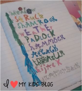 Cool ways to write words