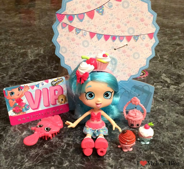 We received a jessicake shoppie here are her shopkins figurines