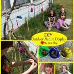 DIY Outdoor nature display