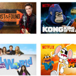april 2016 new on netflix for kids, tweens and family