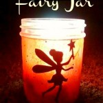 how to make a DIY glowing Fairy Jar in under 10 minutes