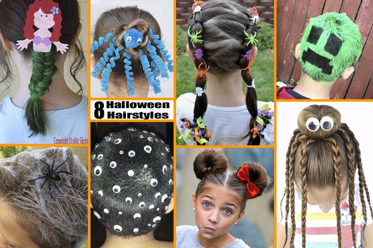 Hair Styles For Toddlers: 8 Fun & Unique Halloween Hairstyle Ideas For Kids